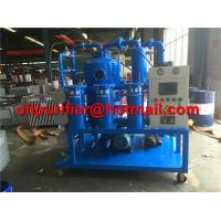 China ZYD two-stage vacuum oil recycling insulation oil purifier machine, Best Selling Transformer Oil Filtration Machine on sale