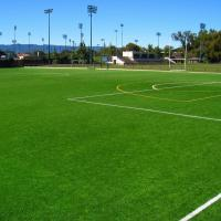 Wholesale Forever Green Artificial Grass Football Pitch / Football Artificial Turf Long Service from china suppliers