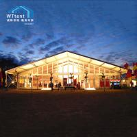 China 3000sqm Beautiful Outdoor Exhibition Tents , UV Resistant Car Show Canopy on sale