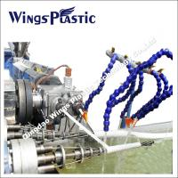 Wholesale PVC Spiral Reinforced Suction Hose Extrusion Line / Manufacturing Machine from china suppliers