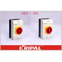 Buy cheap OEM/ODM acceptable Rotary Isolator Switch Disconnect Switch OFF-ON 4P 40A Semko from wholesalers