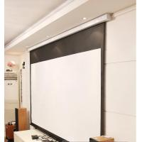 Wholesale Cynthia Screen Wall Mount Projection Screen Manual Self-Lock Screen Matte White Fabric from china suppliers