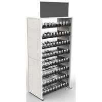 Wholesale Metal Frame Modular Cigarette Display Cabinet Tobacco Shelf 240 Facings from china suppliers