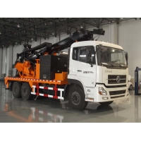Buy cheap 20T Load 266HP Truck Mounted Well Drilling Machine from wholesalers