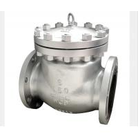 Wholesale BW Flanged End Swing Check Valve Stellited Threaded Seat WCB CF3M CF8M Alloy 20 from china suppliers