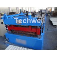 Wholesale Welded Wall Plate Forming Structure Roof Roll Forming Machine 0-15m / Min Forming Speed from china suppliers