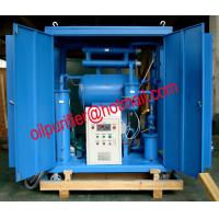 Single-stage Vacuum Oil Purifier Machine for low voltage transformers.Insulation Oil Filtration Plant,factory sale