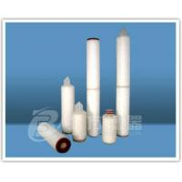 Wholesale Sell Micro Pore Folding Type-PTFE-film Filter Element from china suppliers