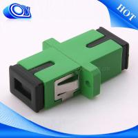 Wholesale Plastic FTTx Coupler Standard SC / APC UPC Compact Design Fiber Optical Adapter from china suppliers