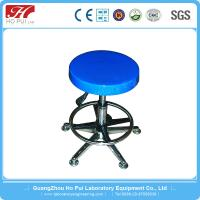 Wholesale Adjustable Stainless Steel Lab Furniture , Alloy Plating Lab Stool Chair from china suppliers