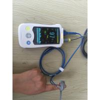 China Audio Multi Parameter Patient Monitor Portable Pulse Oximeter , White on sale