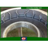 Wholesale OEM / ODM Pneumatic Tire Mold Q345 Aluminum Two Piece Radial Tyre Mold from china suppliers