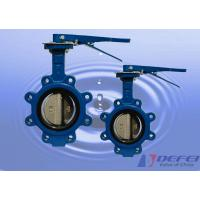 Wholesale API 609 / ISO 5752 / BS5155 Standard ANSI Flange Lug Butterfly Valve from china suppliers