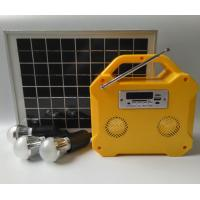 Buy cheap Camping Small Solar Panel Light Kit Off Grid Solar Power Systems LED Screen from wholesalers