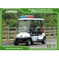 Wholesale EXCAR 48V 4 Seats Electric Patrol Car Electric Patrol Vehicle Customized Logo from china suppliers