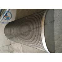 Wholesale 316L Grade Parabolic Filter , Parabolic Sieve For Mining Machinery / Beer Machine from china suppliers