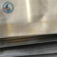 Wholesale Stainless steel Wire Slot Wedge Wire Screen Panels For Solid-liquid separation from china suppliers