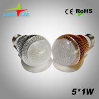 Wholesale good quality of  5W 430lm white color led bulb lamp from china suppliers