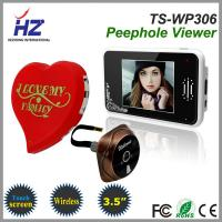 Wholesale 2.4GHz digital frequency 3.5''touch screen wireless digital door peephole viewer from china suppliers