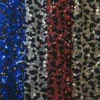 Wholesale Fashionable Stretch Sequin Fabric 150gsm Shiny Color Customizable Color from china suppliers