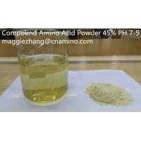 Quality Factory Pirce Compound Amino Acid Liquid 40% for Organic Agricultural use for sale