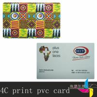 China CMYK Printed Plastic Cards With Gold / Silver Membership Card Printing on sale