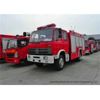 Wholesale Rescue Fire Truck With Fire Engine 5500Liters Water , Fire Brigade Vehicle from china suppliers