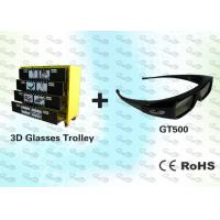 Wholesale OEM 3D Package Black Stereo 3D Glasses with Trolley from china suppliers