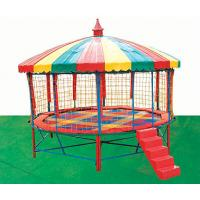 Wholesale Customized Children Trampoline with UV-resistant Jumping Mat A-17802 from china suppliers