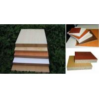 Melamine paper laminated particle board of item