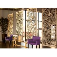 Buy cheap Multi Functional Decorative Metal Panels Interior With Brushed / Sandblast from wholesalers