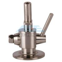 Quality Manual Aseptic Sample Valve Food Grade Stainless Steel Sanitary Wine Sample for sale
