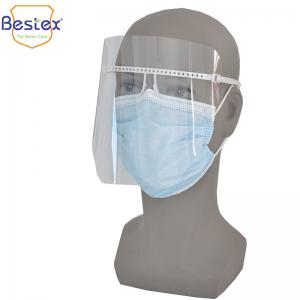 Wholesale Fashionable 16.6cm Adjustable Face Shield For Restaurant from china suppliers