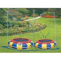 Wholesale Children Trampoline with Double Tubes Galvanized for Inside and Outside A-17903 from china suppliers