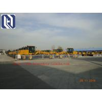 China 7000kg Payload SHMC GR215 Motor Grader for Road Construction , Yellow , White on sale