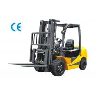 Wholesale 2500kg Four Wheel Forklift Gas Powered With Three Stage Mast Lift Height 6m from china suppliers