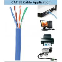 Cat 5 UTP Cable Solid Copper High Speed Cat5e Lan Cable 4 Pair Twisted Pair C