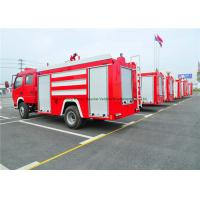 Wholesale Emergency Rescue Fire Fighting Truck With Fire Pump 4000Liters Water Tank from china suppliers