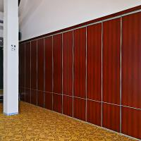 Wholesale Polyester Construction Material Hanging System Sound Proof Curtain Partition Walls For Hotel from china suppliers