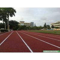 China Multi Color Running Track Flooring With PU Material Acid Resistance on sale
