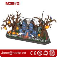 Wholesale 3d Halloween Wall Decor, 3D Paper Wall Art, Halloween Decor 3D puzzle Castle from china suppliers