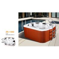 Wholesale Outside home whirlpool tub massage jets for family use with steps from china suppliers