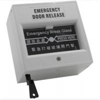 Wholesale Grey Emergency Exit Button Emergency Door Release Break Glass Unit For Fire Alarm from china suppliers
