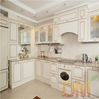 Solid wood shaker style dark kitchen cabinet project for Shaker style kitchen cabinets manufacturers