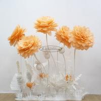 Buy cheap New Paper Camellia Tissue Paper Pom Poms Craft Party Decoration from wholesalers