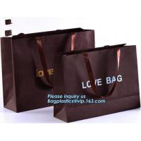 Wholesale Luxury tea souvenir bag custom rope handle paper packaging bags for food,Personality And Fashion medium gift carrier pap from china suppliers