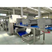 China Z Shape Placed Pastry lamination Machine Customized Belt Width For Danish Pastry on sale