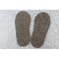 Buy cheap Inner / Outer Warm Wool Felt Insoles / Sock Lining With 2mm - 10mm Thickness from wholesalers