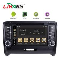 Steering Wheel Control Audi In Car Dvd Player , Audi TT Car Dvd Player Gps Navigation