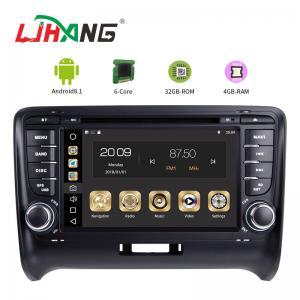 China Steering Wheel Control Audi In Car Dvd Player , Audi TT Car Dvd Player Gps Navigation on sale